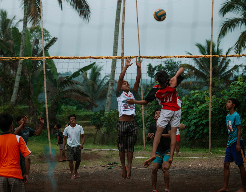 Jungle Volleyball in Ijen, Indonesia