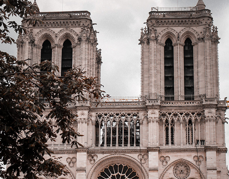 Notre-Dame cathedral in Paris France