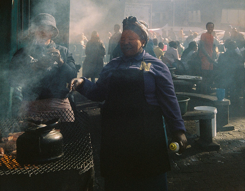 Barbecue in Johannesburg, South Africa